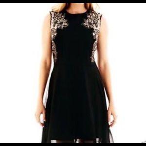 J. Taylor fit & flare embellished dress. Size 16